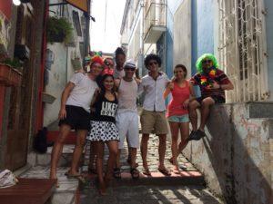 carnival, hostel de beco, rio de janeiro